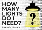 Industrial Commercial Recommended Lighting Levels