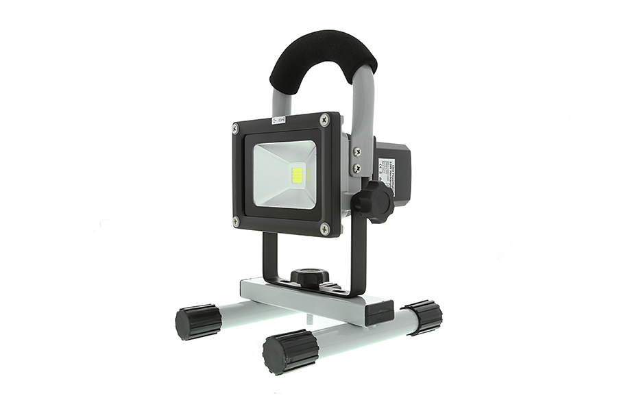 10w portable high powered rechargeable led work light. Black Bedroom Furniture Sets. Home Design Ideas