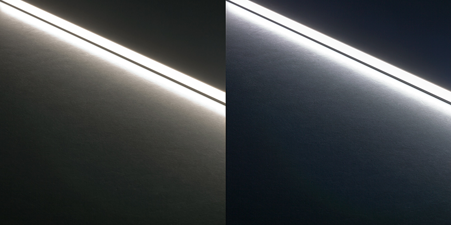 Led linear light bar fixture 383 lumens rigid led linear light bars led strip lights led Exterior linear led lighting