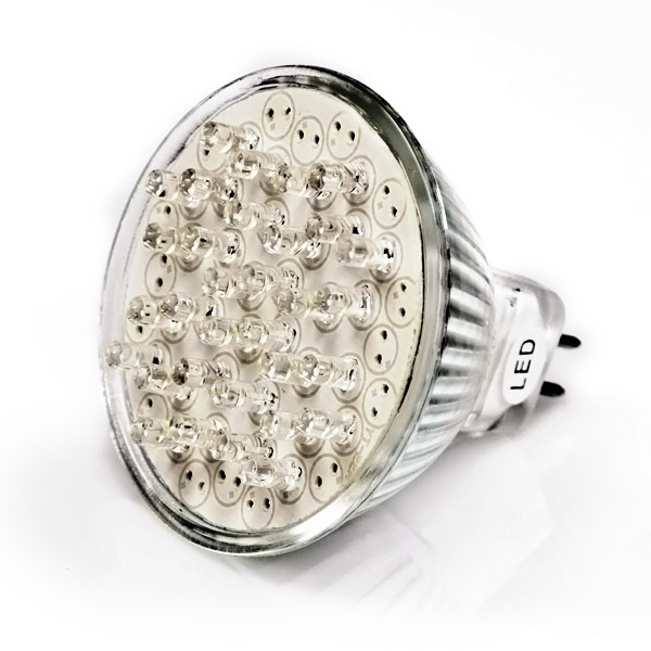 MR16 Bulb with 32 Cool White LEDs - Narrow