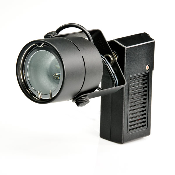 LED Track Light Fixture - Black