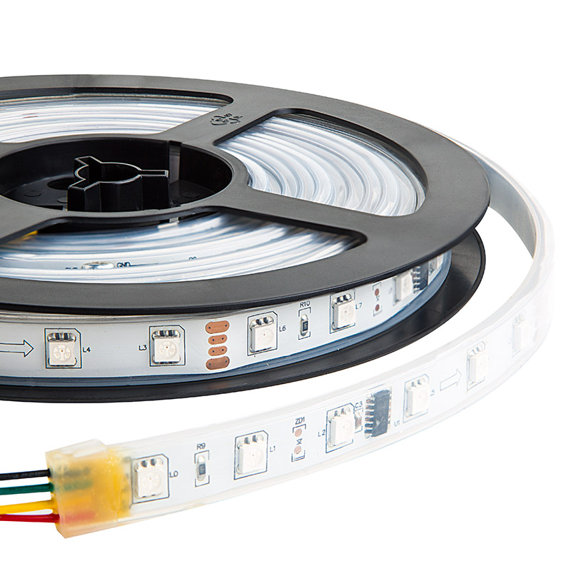 Swdc series dream color flexible rgb led strip 12 volt dc led swdc series dream color flexible rgb led strip 12 volt dc led flexible strip mozeypictures Image collections