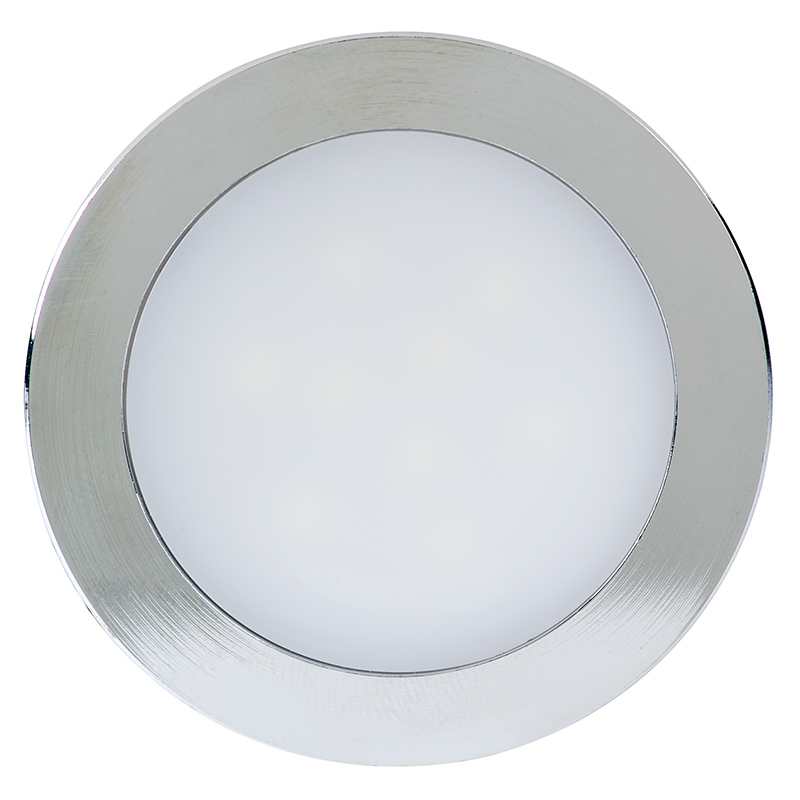 Mini Recessed LED Light Fixture with Removable Trim - 50 Lumens : Recessed LED Lighting : LED ...