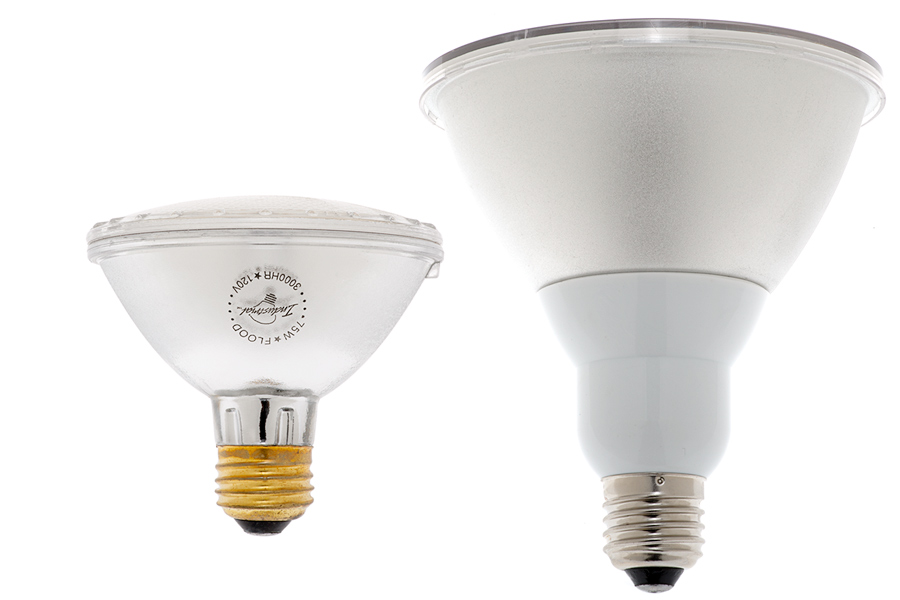 how to change small spotlight par20 bulb