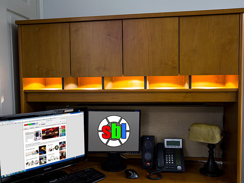 LED Desk Rigid RGB Light Bar