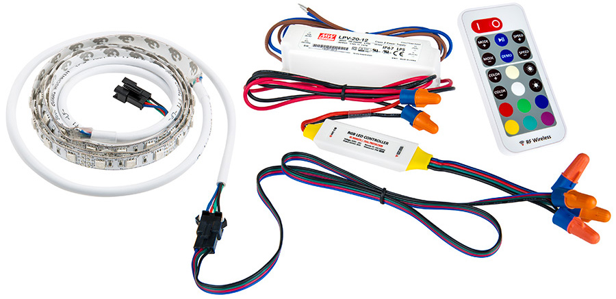 What Is Needed For Installation of RGB LED Strips and RGB LED Light ...