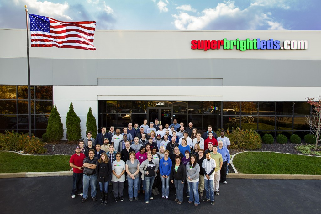 Super Bright LEDs Company Photo