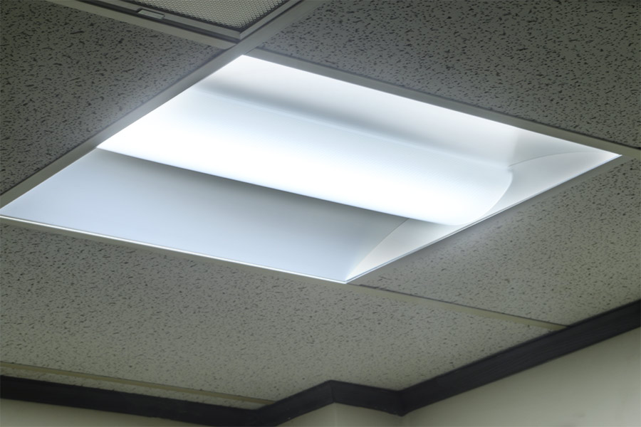 Recessed led office lighting : Our new recessed led troffer lights have arrived