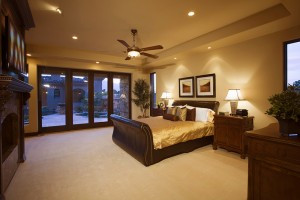 Warm White Bedroom Lighting