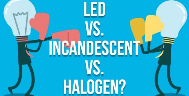 LED vs Incandescent and Halogen