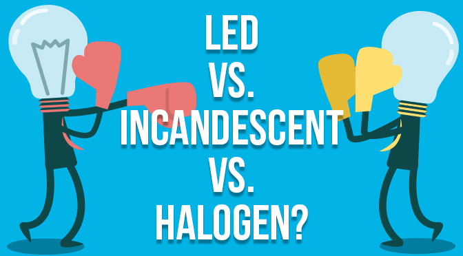 LED Vs Incandescent Halogen
