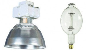 An HID fixture and an HID replacement bulb