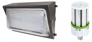 LED Wall Pack and LED Corn Bulb - LED vs HID