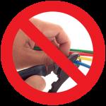 Do-Not-Pierce-Wires