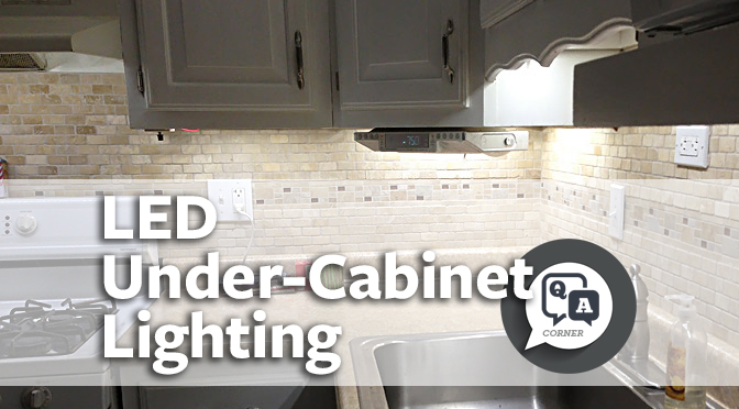 Faq How To Install Strip Lighting And Under Cabinet Lighting Super Bright Leds