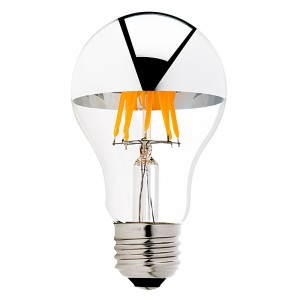 silver-tipped LED filament bulbs - mother's day gifts