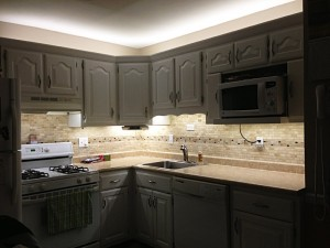 LED under-cabinet lighting
