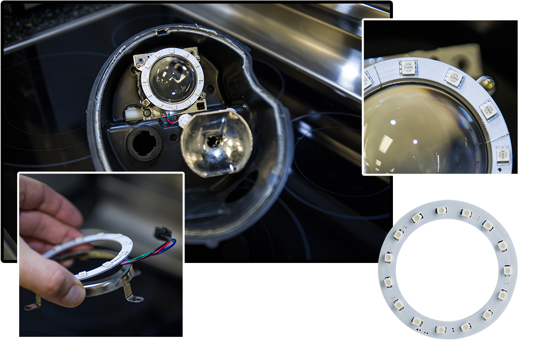 Installing halo headlights wires-5637