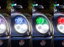 hot to install halo headlights - LED angel eye headlights