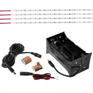 LED canopy tent lighting kit contents separate
