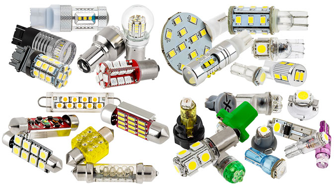 LED car bulbs - fathers day gifts