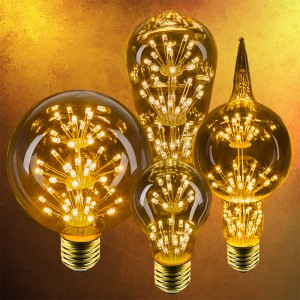 LED fireworks bulbs - outdoor LED lighting