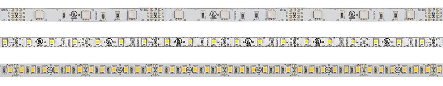LED strip lighting - different strips