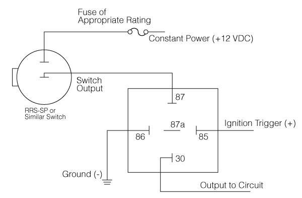 what is a relay - ignition override switch