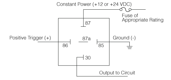 what is a relay - positive switching