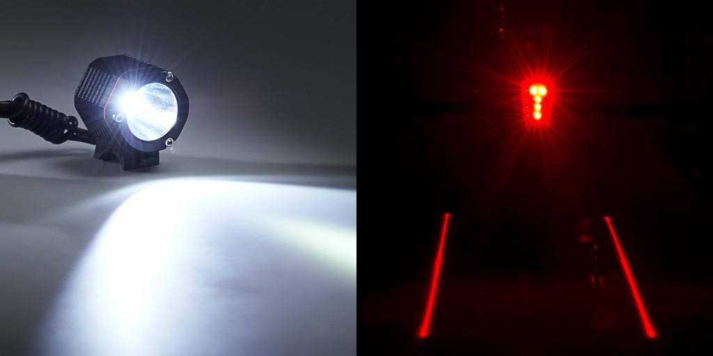 LED bike lights - college gift ideas