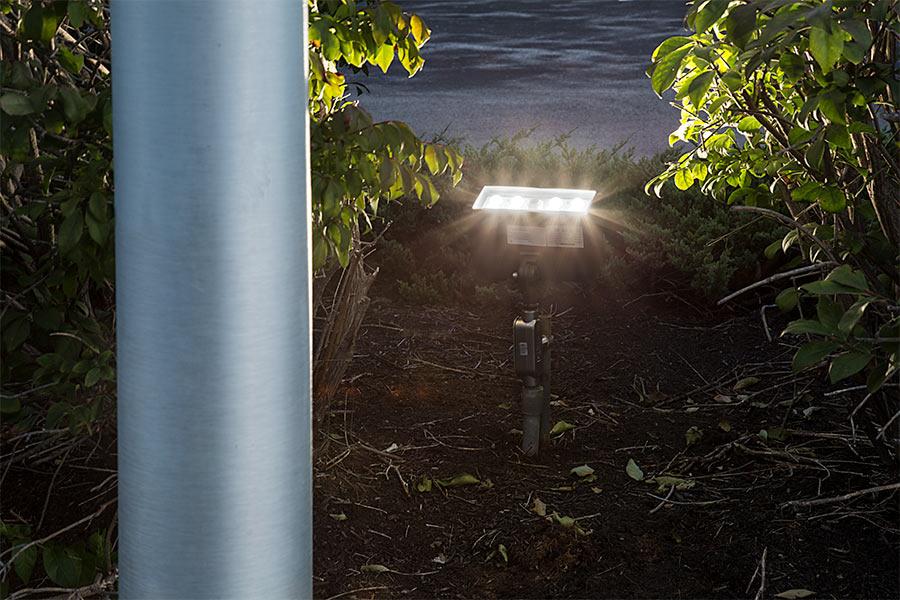 Knuckle Mount Led Flood Lights Illuminate Signs