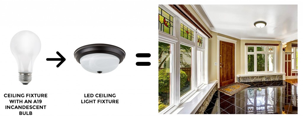 A19 CEILING FIXTURE