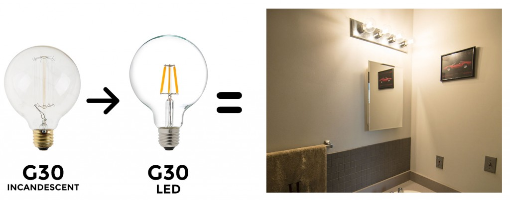 Vanity Lights Flickering : The Ultimate Household LED Bulb Replacement Guide - superbrightleds.com