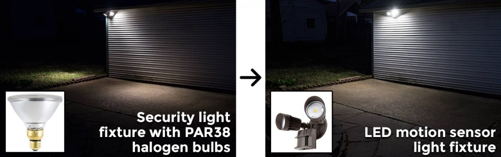 security light replacement guide