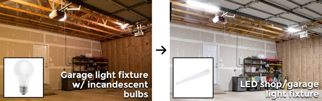 garage light replacement guide