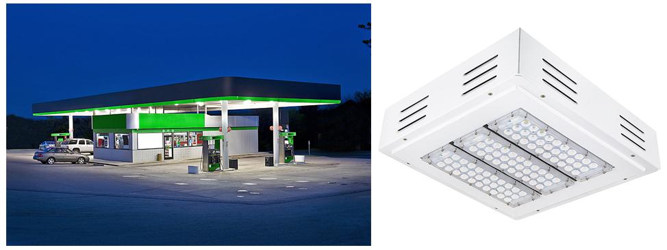 gas station canopy light