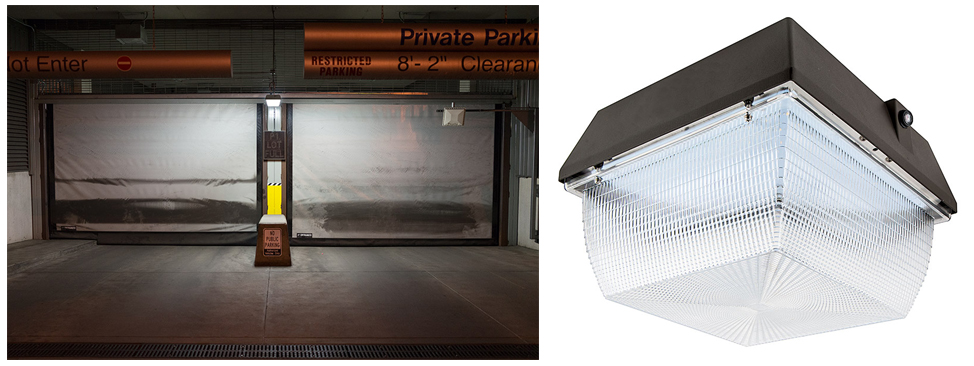 canopy light parking garage & LED Street Lights and Security Lights: A Crime Reducing Investment ...
