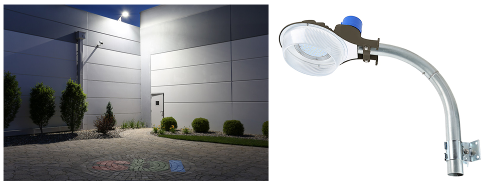 security light building entrance
