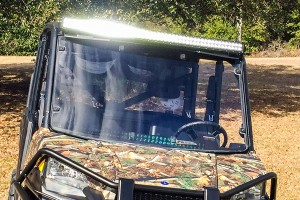 father's day gifts - off-road led light bar on ATV