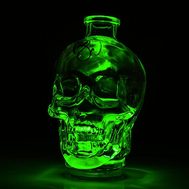 Halloween lights - LED light under skull