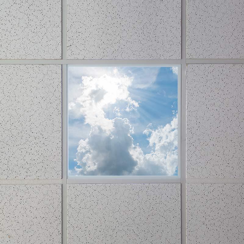 Virtual Skylights LED Panel Light sunshine sky