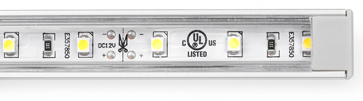 aluminum LED profiles complete