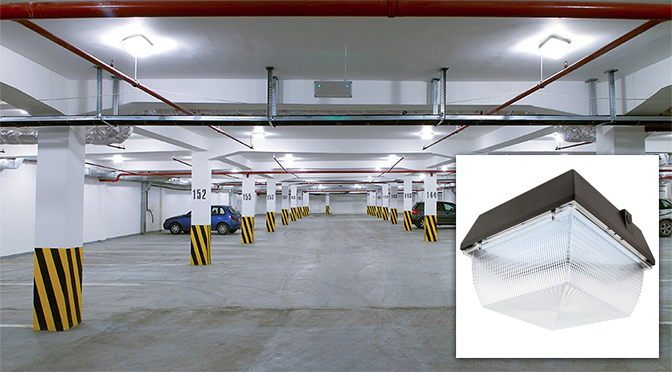 LED Canopy Lights for Industrial and Commercial Applications