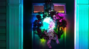 portable LED strip lights - wreath lights