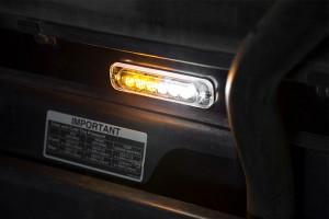 LED snow plow lights - strobe installed