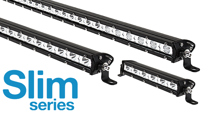 slim LED light bars