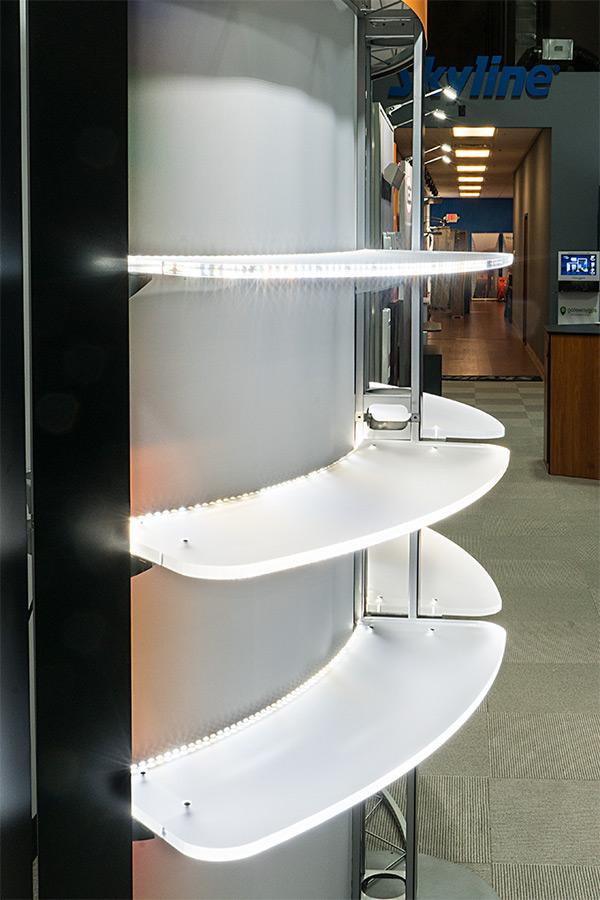 LED trade show lighting - high cri led strip lights