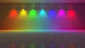 LED trade show lighting - LED colors