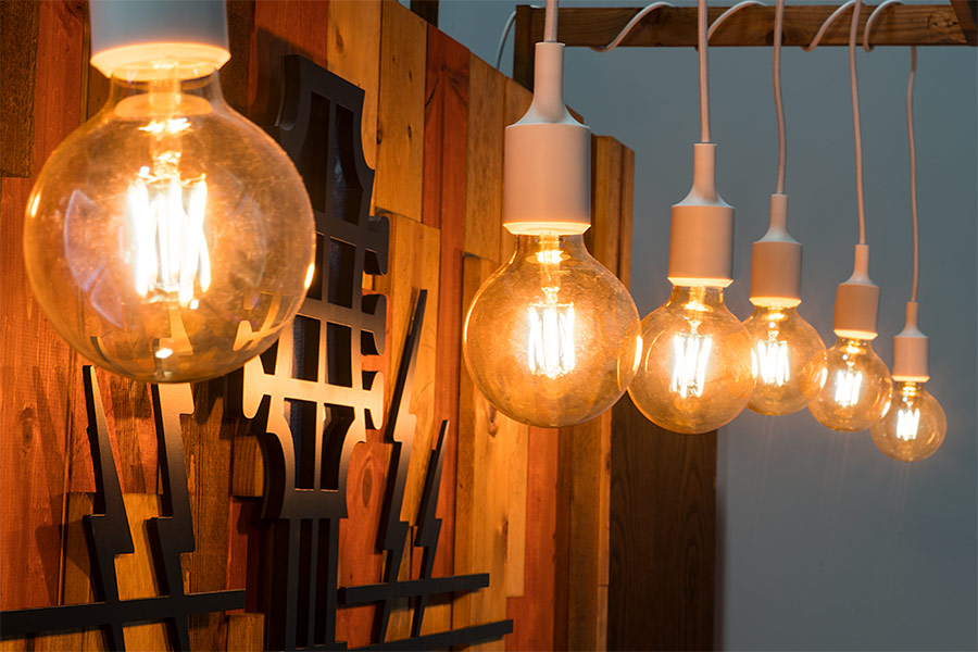 LED trade show lighting - LED vintage bulb
