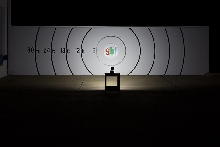 5.5-inch LED work light output
